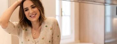 Tamara Falcó nos muestra cómo combinar un set de punto low-cost de Zara y que parezca ropa de lujo