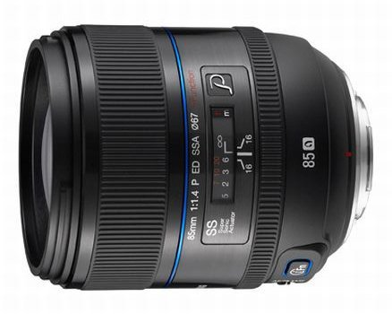 Samsung prepara un 85mm, pensando en los retratos