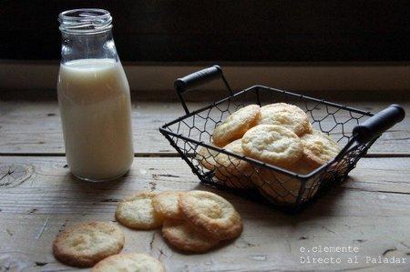 Galletas crujientes de queso crema