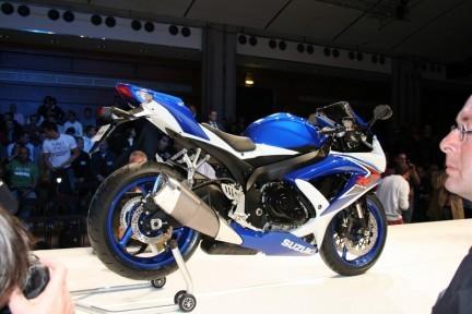 Salón de París: Suzuki GSX-R 750 2008