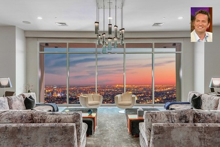 Matthew Perry pone a la venta su lujoso penthouse de Los Ángeles por 35 millones de dólares. Y las vistas son impresionantes