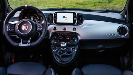 Fiat 500 Hey Google 1 Interior