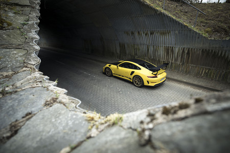 Porsche 911 GT3 RS 2018 trasera