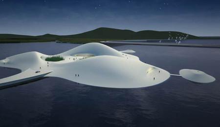 El museo de arte más grande de Asia se ubicará en una isla artificial en China