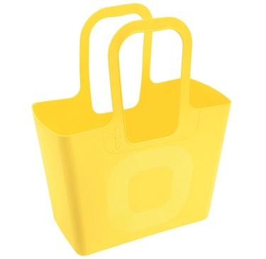 Asequible radical chic: la bolsa Tasche de Mendini para Koziol