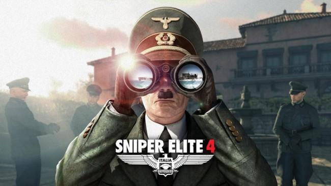 Sniper Elite 4 Hitler