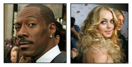 Lindsay Lohan 2, Eddie Murphy 5