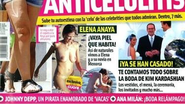Elena Anaya le da más a la piel que al hábito