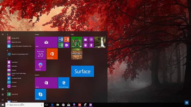Fluent Design Windows 10