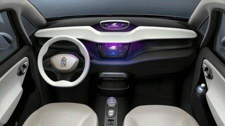 Pininfarina Bluecar interior