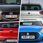 KIA Rio vs. Mazda2 vs. SEAT Ibiza vs. Suzuki Swift: Analizamos sus versiones básicas