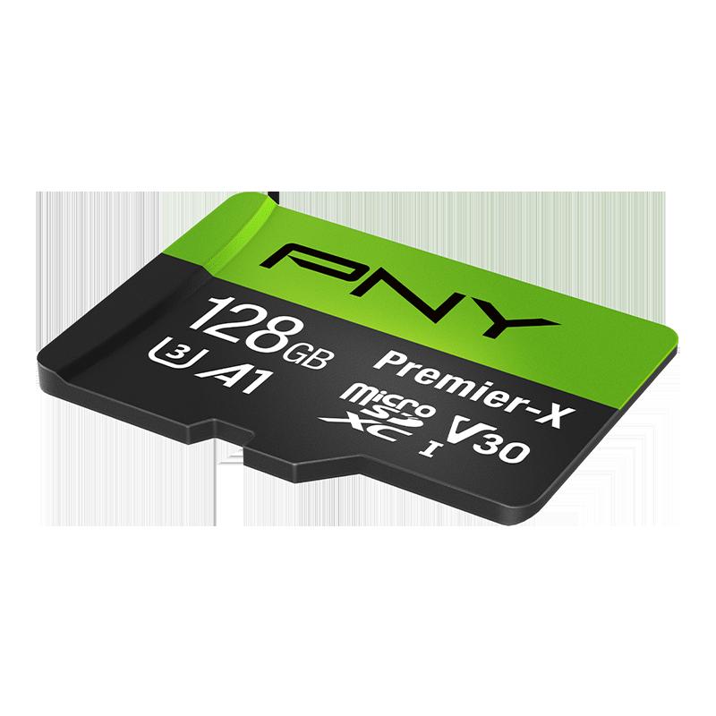 Tarjeta microSD PNY Elite-X de 128GB, U3, V30, A1, Class 10, hasta 100MB/s