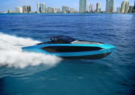 El Tecnomar for Lamborghini 63, es un yate inspirado por los deportivos de la casa italiana que te costará cerca de 98 MDP
