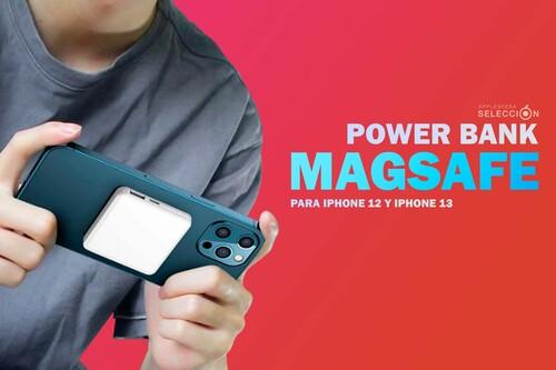 Alternativas a la Apple Battery Pack MagSafe: ocho PowerBanks con carga inalámbrica magnética para iPhone 12 y iPhone 13