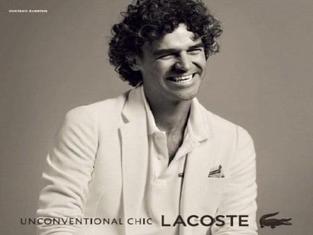 El tenista brasileño Gustavo Kurten nueva cara de Lacoste
