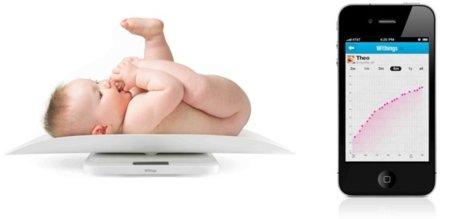 Smart Baby Scal hace más geek controlar el peso de nuestro bebé