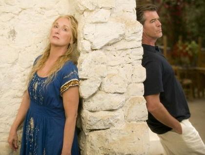 Primera foto de 'Mamma Mía!', musical con Pierce Brosnan y Meryl Streep