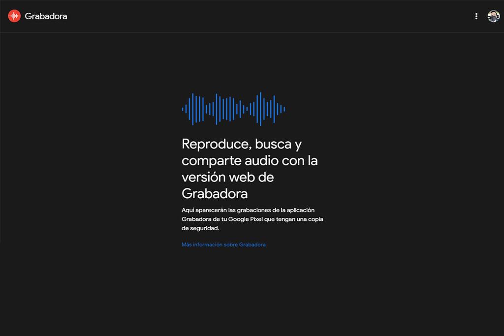 La Grabadora de Google estrena versión web y pronto hará copia de seguridad de las grabaciones