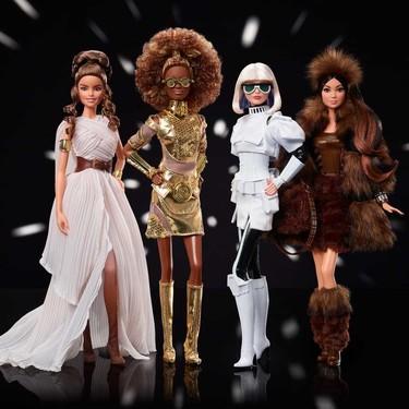 En el Día de Star Wars, Mattel anuncia nueva colección de muñecas Barbie inspiradas en las películas
