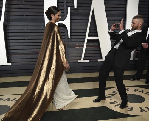 Las mejores parejas de los Oscars se van de fiesta