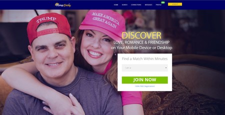 """""""Sólo para heteros"""": probamos la web de citas para seguidores de Donald Trump"""