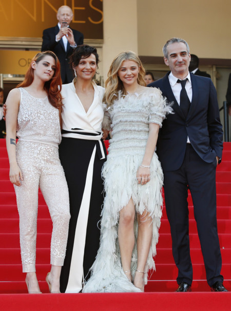 Kristen Stewart Binoche Moretz Cannes 2014