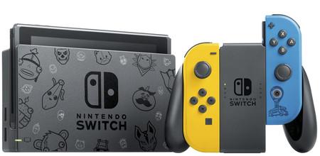 Nintendo y Fortnite se alían para lanzar una nueva edición especial de Switch con los colores y motivos del Battle Royale