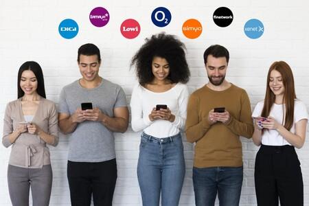Operadores más baratos pertenecientes a Movistar, Vodafone, Orange y MásMóvil