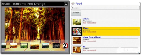 BibbyCam, una especie de Instagram para BlackBerry