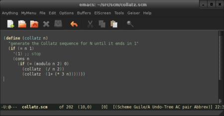 Paréntesis y llaves de colores en Emacs, gracias a Rainbow Delimiters