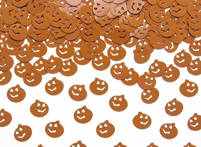 Confetti Halloween Calabaza