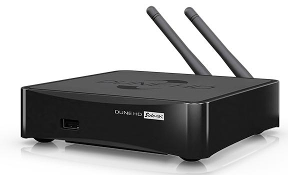 Dune HD SOLO 4K, el nuevo reproductor multimedia de la marca con sintonizador de TDT