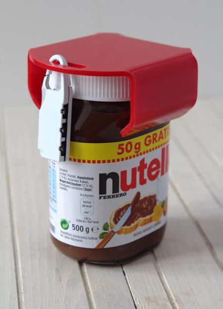 Imprescindible: un alemán diseña un candado para su Nutella