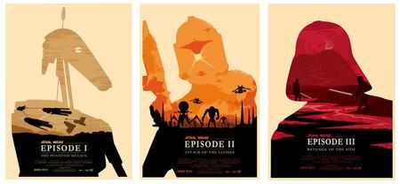 Star Wars Episodes 1 3 By Zenithuk D39mfhy