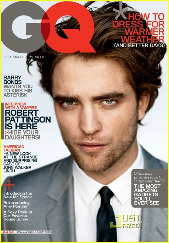 Foto de Robert Pattinson en GQ (1/5)