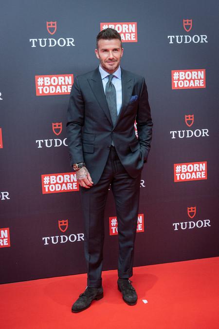 El Estilazo De David Beckham En Madrid Nos Invita A Ser Los Mejor Vestidos En Las Bodas De Temporada 2
