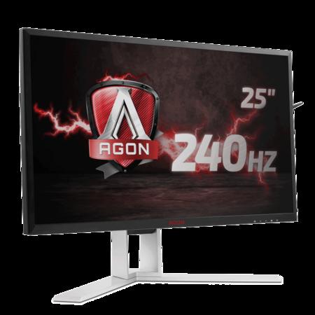 AOC sigue pensando en los usuarios gamer con el monitor AGON AG251FG y sus 240 Hz de tasa de refresco