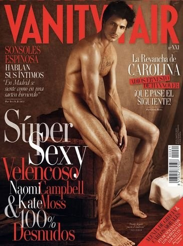 Andrés Velencoso se desnuda para Vanity Fair
