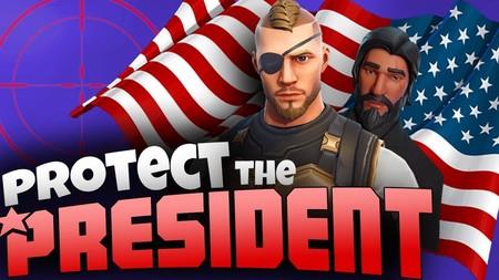 Protege al presidente: la nueva locura de Fortnite que se está adueñando de internet