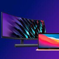 """Trabaja mejor con tu Mac desde casa: este completo monitor de 34"""" WQHD 165 Hz de Huawei está a precio mínimo histórico en Amazon"""