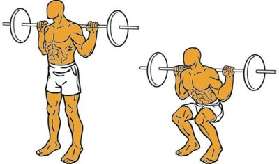 Musculación para corredores (XI): sentadillas