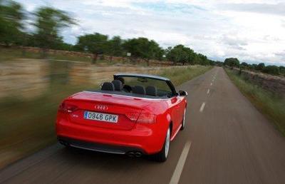 Audi Cabrio, presentación de la gama 2010 (parte 2)