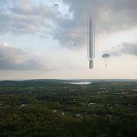 Este rascacielos orbital no tocará el suelo (por poco)