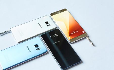 Samsung Galaxy Note 7 dobla la seguridad y resistencia: estrena el escáner de iris y no le da miedo el agua