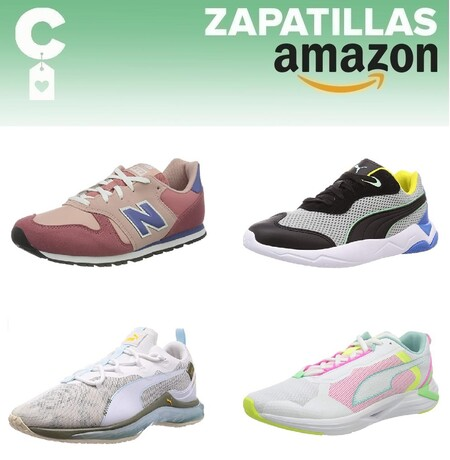 Chollos en tallas sueltas de zapatillas Puma, New Balance o Under Armour por menos de 30 euros en Amazon