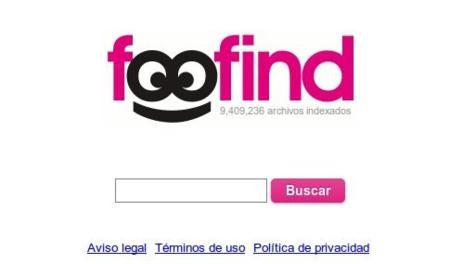 Foofind, nuevo buscador de enlaces
