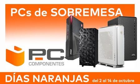 Las mejores ofertas en PCs de sobremesa de los Días Naranjas de PcComponentes: 11 modelos de ASUS, Dell, HP, Lenovo o MSI a precios rebajados