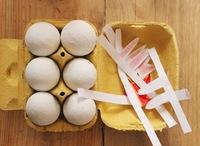 Cuatro manualidades para decorar y divertirse en Pascua