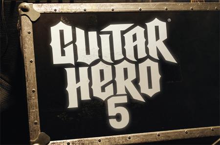 Imágenes de la nueva y mejorada batería de 'Guitar Hero 5' y 22 canciones del tracklist