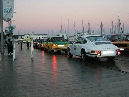 Primera edición del Rally Ciudad de Vigo de Clásicos